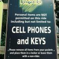 Great Adventure - Loose Articles Sign - Kingda Ka
