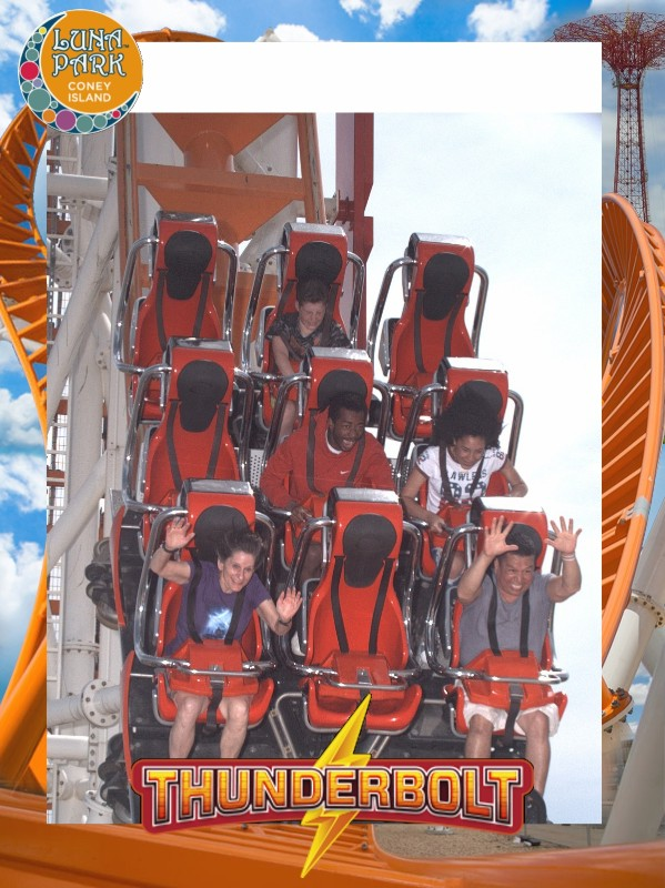 Thunderbolt - Luna Park - On Ride Photo