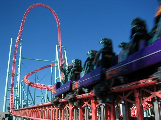 Xcelerator - Knotts Berry Farm