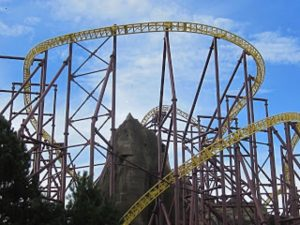 Volcano at Kings Dominion - Most Intense Roller Coasters