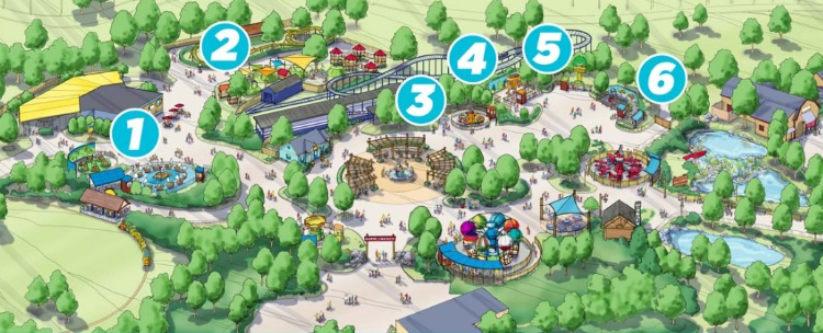 Camp Snoopy Carowinds 2018