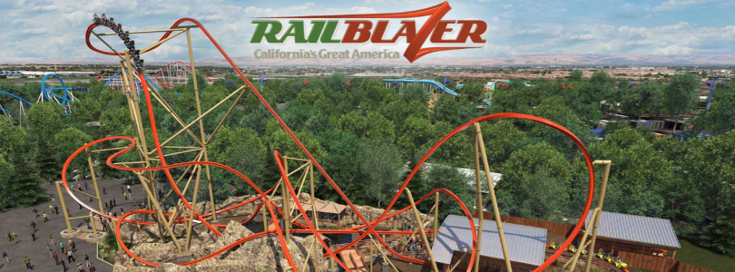 RailBlazer - New Roller Coaster Californias Great America - 2018