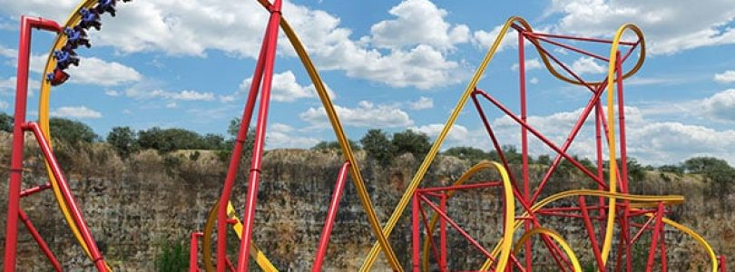 Wonder Woman Golden Lasso Roller Coaster Coming to Six Flags Fiesta Texas