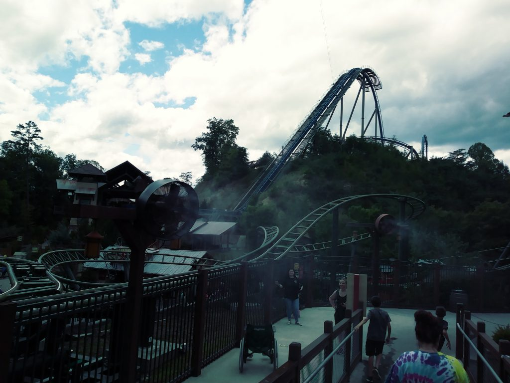 Dollywood - Firechaser Express & Wild Eagle