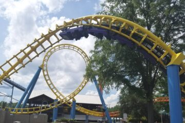 Carolina Corkscrew - Roller Coaster - Carowinds -1200-2
