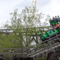 Carolina Goldrusher - Green Train - Carowinds