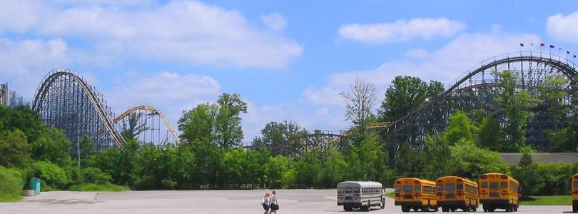 Villain at Geauga Lake - Defunct Roller Coaster