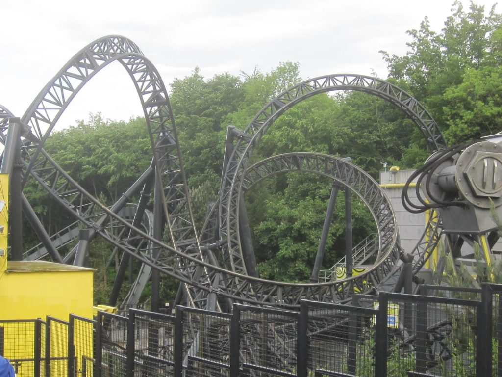 Smiler at Alton Towers