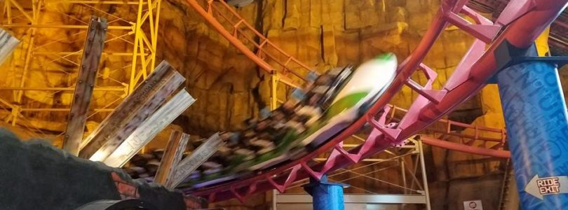 Canyon Blaster Coaster - Adventuredome Review