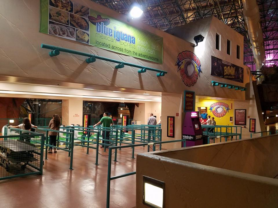 Canyon Blaster Station - Adventuredome Review