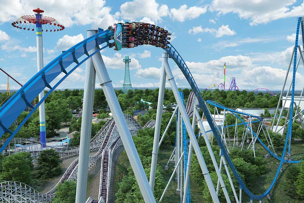 Orion Giga Coaster - Kings Island 2020